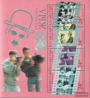 Kazakhstan Block8 (complete Issue) Unmounted Mint / Never Hinged 1996 100 Years Cinema - Kazakhstan