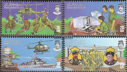 Brunei 339-342 (complete Issue) Unmounted Mint / Never Hinged 1986 Royal Forces - Brunei (1984-...)