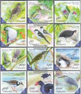 Vanuatu 1464-1475 (complete.issue.) Unmounted Mint / Never Hinged 2012 Locals Birds - Vanuatu (1980-...)