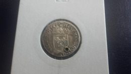 1/12 Ecu à La Mèche Longue 1659 & Louis XIV - Percé - 987-1789 Könige
