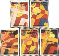 Suriname 1125-1129 (complete Issue) Unmounted Mint / Never Hinged 1985 Easter - Surinam