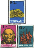 Suriname 901-903 (complete Issue) Unmounted Mint / Never Hinged 1980 London - Surinam