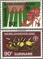 Suriname 1106-1107 (complete Issue) Unmounted Mint / Never Hinged 1984 Nutrition - Surinam