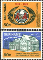 Suriname 1130-1131 (complete Issue) Unmounted Mint / Never Hinged 1985 IHK - Surinam