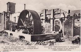 26294Chiry Ourscamp, Duitsche Verwoestingen In Frankrijk. De Vernielde Stoomketel Van Een Spinnerij. - War 1914-18