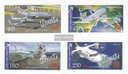 Vanuatu 1340-1343 (complete.issue.) Unmounted Mint / Never Hinged 2007 Airline - Vanuatu (1980-...)