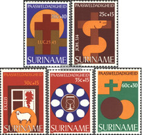Suriname 818-822 (complete Issue) Unmounted Mint / Never Hinged 1978 Easter - Surinam