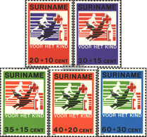 Suriname 883-887 (complete Issue) Unmounted Mint / Never Hinged 1979 Youth - Surinam