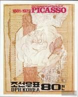 North-Korea Block110 (complete.issue.) Fine Used / Cancelled 1982 100. Birthday Pablo Picasso - Korea, North