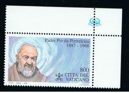 1999 - VATICANO - S11G - SET OF 1 STAMP ** - Nuevos