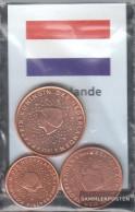 Netherlands NL1 - 3 Stgl./unzirkuliert Mixed Vintages Stgl./unzirkuliert 1999-2004 Kursmünze 1, 2 And 5 Cent - Netherlands