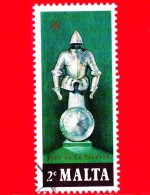 MALTA - Usato - 1977 - Eventi Storici - Cavaliere - Armatura - Jean De La Valette's Armour - 2 - Malta
