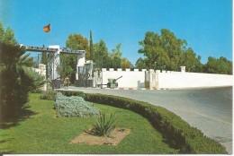 PP660 - POSTAL - ALICANTE - CAMPAMENTO DE RABASA - DETALLE PUERTA PRINCIPAL - Alicante