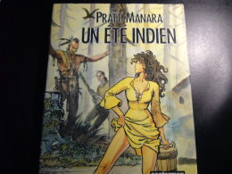 Corto Maltese Les Helvetiques Hugo Pratt Casterman Eo 1988 + Jaquette - Manara