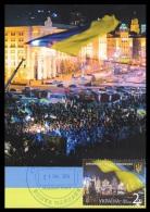 Ukraine 2014 Mih. 1427 Euromaidan (maxicard) (special Canc. Maidan Post) - Oekraïne