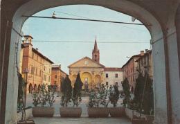 ITALY - Carmagnola 1995 - Piazza Sant' Agostino - Italia