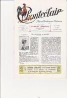 """REVUE ARTISTIQUE ET LITTERAIRE -""""CHANTECLAIR"""" N° 241 -ANNEE 1928 - 1900 - 1949"""