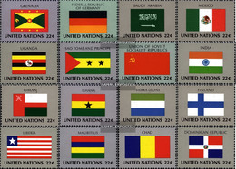 UN - New York 472-487 (complete Issue) Unmounted Mint / Never Hinged 1985 Member States - New York – UN Headquarters