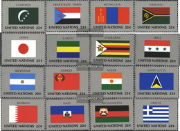 UN - New York 524-539 (complete Issue) Unmounted Mint / Never Hinged 1987 Member States - Unused Stamps