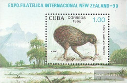 Cuba Block122 (complete Issue) Unmounted Mint / Never Hinged 1990 New ZEALAND 90 - Nuevos