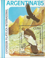 Cuba Block90 (complete Issue) Unmounted Mint / Never Hinged 1985 ARGENTINA 85 - Nuevos