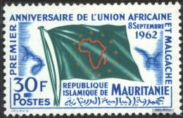 Mauritania 194 (complete Issue) Unmounted Mint / Never Hinged 1962 UAM - Mauritania (1960-...)