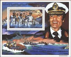 Libya Block51 (complete Issue) Unmounted Mint / Never Hinged 1981 Anniversary September Revolution - Libya