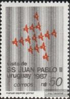 Uruguay 1757 (complete Issue) Unmounted Mint / Never Hinged 1987 Pope Johannes Paul II. - Uruguay