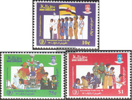 Brunei 314-316 (complete Issue) Unmounted Mint / Never Hinged 1985 Year The Youth - Brunei (1984-...)