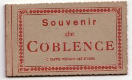 COBLENCE (KOBLENZ) Carnet Souvenir 10 Cartes - Koblenz