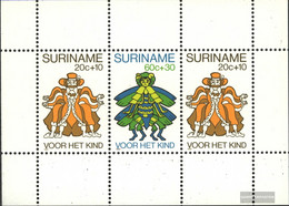 Suriname Block 26 (complete Issue) Unmounted Mint / Never Hinged 1980 Youth - Surinam