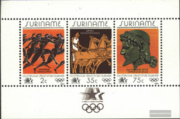 Suriname Block37 (complete Issue) Unmounted Mint / Never Hinged 1984 Summer - Surinam