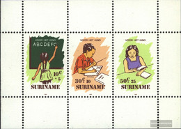 Suriname Block41 (complete Issue) Unmounted Mint / Never Hinged 1985 Youth - Surinam