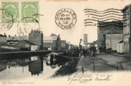 MOLENBEEK   -  Quai Saint Jean  -  Peniche - Belgique