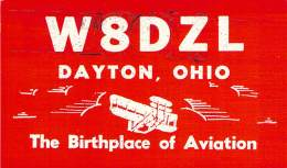 Amateur Radio QSL - W8DZL - Dayton, OH -USA- 1968 - 2 Scans - Radio Amateur