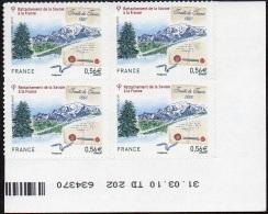France Coin Daté Autoadhésif N°  415 **  (Sans Tiret) Rattachement De La Savoie Du 31.03.2010 - 2010-....