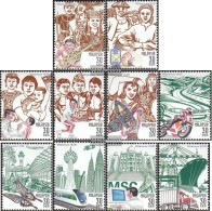Malaysia 846A-855A (complete Issue) Unmounted Mint / Never Hinged 2000 Admission In That Year 2000 - Malesia (1964-...)