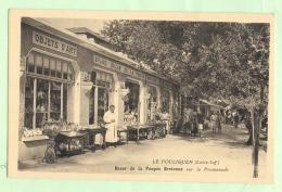LE POULIGUEN , Bazar De La Poupée Bretonne Sur La Promenade - Le Pouliguen
