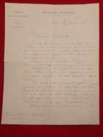LAS GENERAL BOULANGER - Autographs