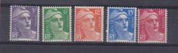 Série / Marianne / N 883 à 887 /  NEUFS ** / Côte 30 € - Unused Stamps