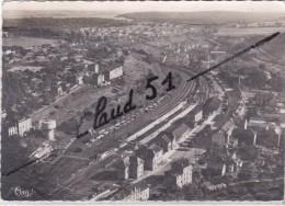 LONGUYON (54) Vue Générale Aérienne - La Gare. - Longuyon