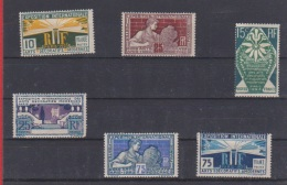 Série / Exposition Internationale / N 210 à 215 /  NEUFS Avec Charnière - Neufs
