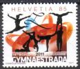 Zu 1387 / Mi 2188 Gymnaestrada Lausanne 2011 Gymnastique ** / MNH - Switzerland