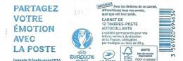 Carnet  Marianne De Ciappa Et Kavena  Euro 2016 Sans Mention 20g Lettre Verte - Carnets
