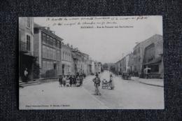 BACCARAT - Rue De Frouard Vers Ste CATHERINE. - Baccarat