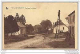TRONQUOY ..-- NEUFCHATEAU ..-- Vue Prise De L´ Eglise . 1935 Vers SCHAERBEEK ( Melle Eug. ROMAN ) . Voir Verso . - Neufchateau