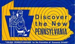 Amateur Radio QSL - WN3CTV - Newtown Square, PA -USA- 1960s - 2 Scans - Radio Amateur