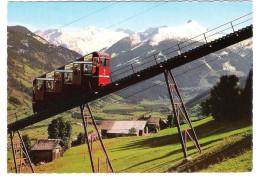 Österreich - Bad Hofgastein - Standseilbahn - Bahn - Eisenbahn - Train - Zug - Railroad - Bergbahn - Seilbahn - Bad Hofgastein