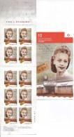 CANADA, 2012, # 481,  PANE # 2521a, VIOLA DESMOND Bklet Of 10 P - Full Booklets