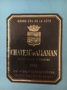 1400 - Suisse Vaud Château D'Allaman 1993 - Etiquettes
